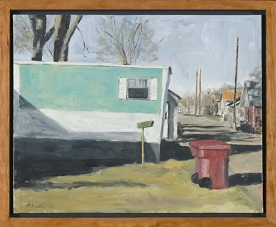The Neighbor by Edwin Carter Weitz