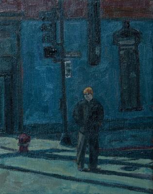 Guy in Chicago by Edwin Carter Weitz