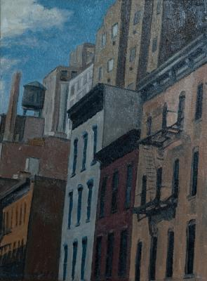 West 30th Street by Edwin Carter Weitz
