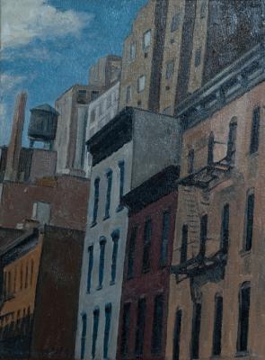 West 30th Street by Edwin Carter Weitz