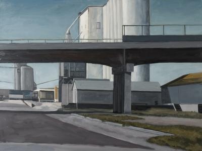 Overpass by Edwin Carter Weitz