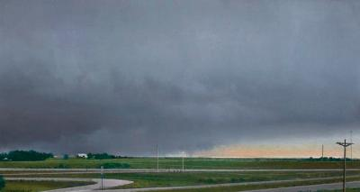 Landscape near Nebraska City by Don Williams