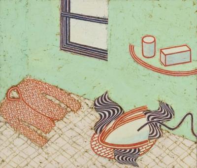 Steam Iron by Martha Horvay