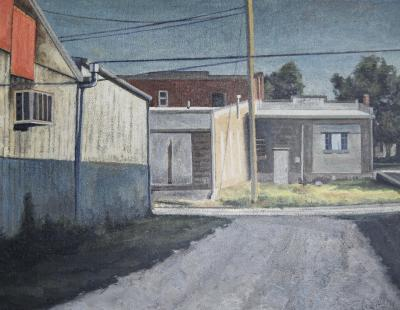 Falls City Afternoon by Edwin Carter Weitz