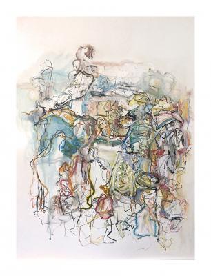 Colored Lines by Teresa Schmidt