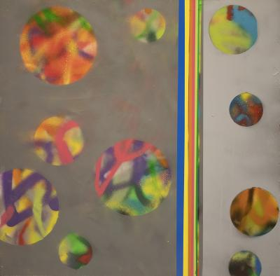 Chemical Reaction Painting No. 140 by Brent Witters