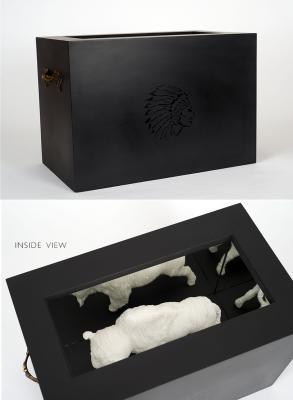 """""""Buffalo Burial Box"""" May 30, 2020 by John Spence"""