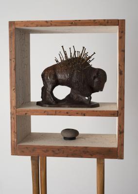 """Buffalo Spirit Box"" April 2018 by John Spence"
