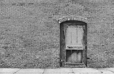 Door in Homer, Nebraska by Justin Meyers