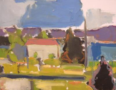Along the Bay by Stephen Dinsmore