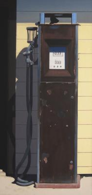 Antique Gas Pump by Don Williams