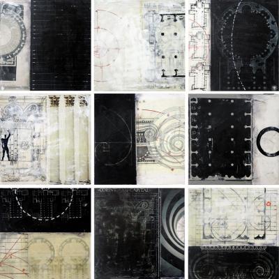 Architecture Tiles by Graceann Warn