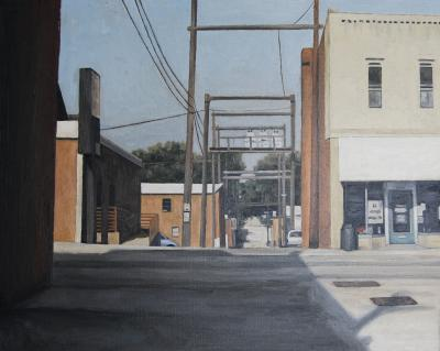 Auburn Shadow by Edwin Carter Weitz