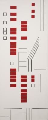 Rhythms in Red by Barbara McCuen