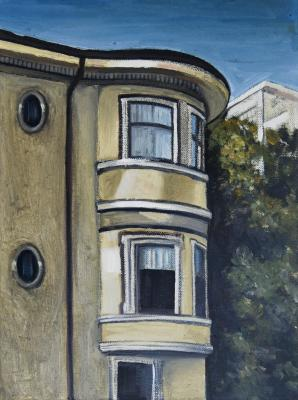Bay Windows by Edwin Carter Weitz