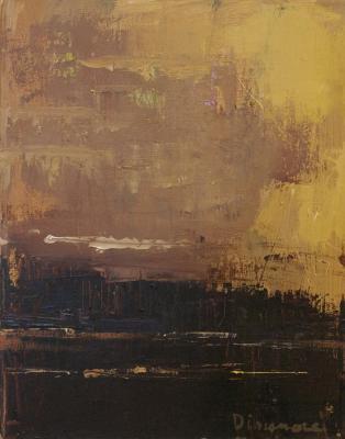 Tonalist Land by Stephen Dinsmore