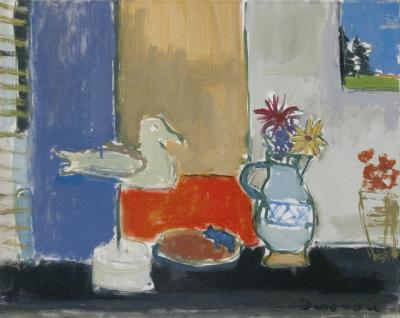 Still Life with Gull by Stephen Dinsmore