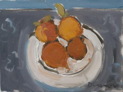 Four Oranges by Stephen Dinsmore