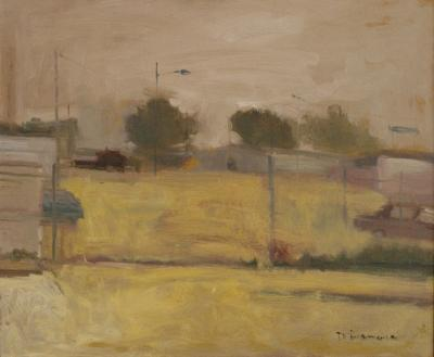 Corner of Town by Stephen Dinsmore