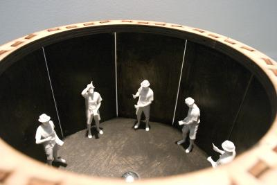 Cow Bell - a mixed media zoetrope by Jamie Burmeister