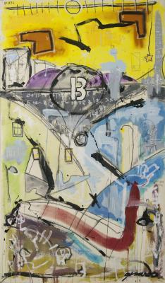 New Line Works No. 3 (unus mundus) by Brian Gennardo