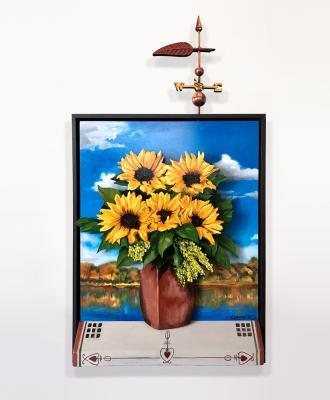 Clark Family Sunflowers by Bob Culver