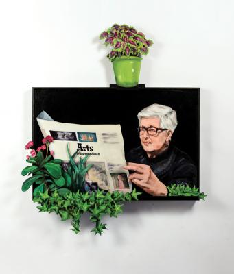Carol's Story: If you have a garden and a library, you have everything you need by Bob Culver