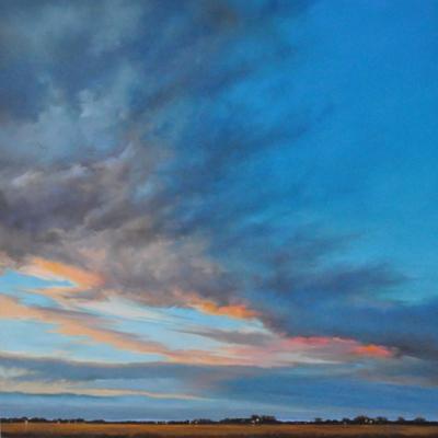 Brushing Skies 03.07 by Jennifer Homan