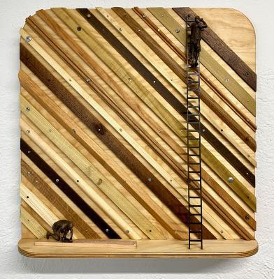 Diagonal Stripes by Jamie Burmeister