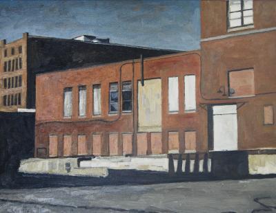 Eastside Loading Dock by Edwin Carter Weitz