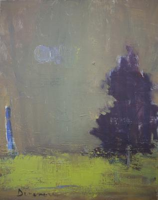 Moon and Tree by Stephen Dinsmore