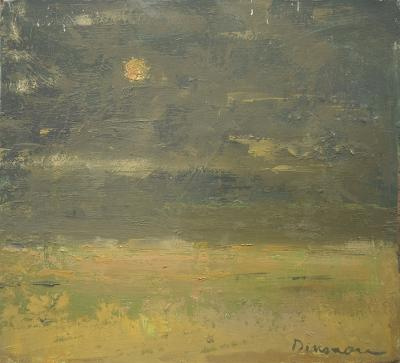 Moon over Atlantic by Stephen Dinsmore