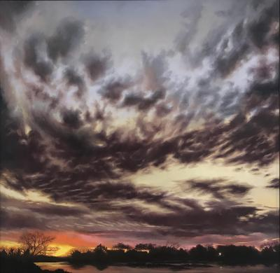 Platte River Skies by Jennifer Homan