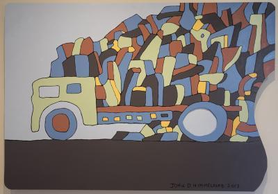 Palette Truck by John Himmelfarb