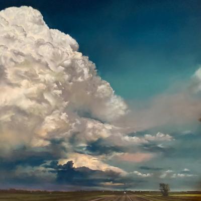 Blooming Skies by Jennifer Homan