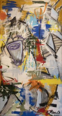 Chicago: Head of Woman by Brian Gennardo