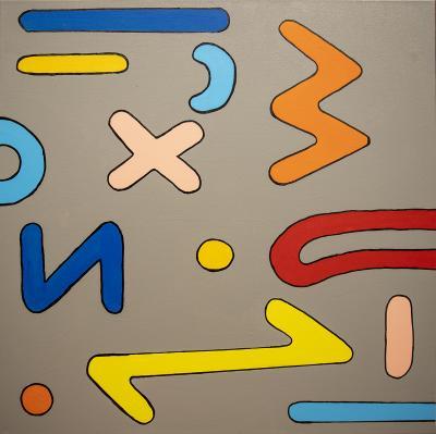 Glyphs in Motion No. 2 by Iggy Sumnik