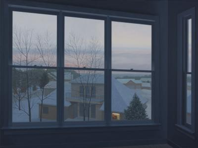 Looking From The Studio Window by Merrill Peterson