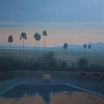 Palm Springs Pool by Merrill Peterson