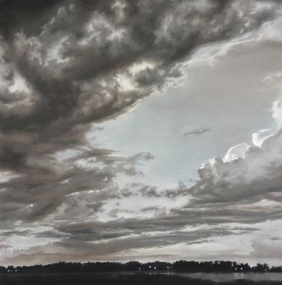 Silver Lined Skies 08.08 by Jennifer Homan