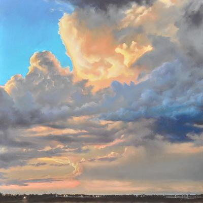 Bubbling Skies 07.03 by Jennifer Homan