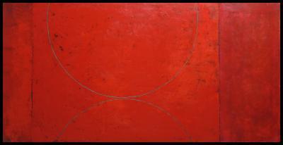Red Arcs by Graceann Warn