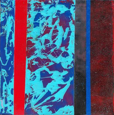 Chemical Reaction Painting No. 92 by Brent Witters