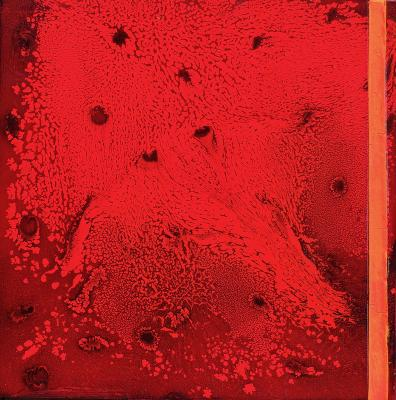 Chemical Reaction Painting No. 91 by Brent Witters