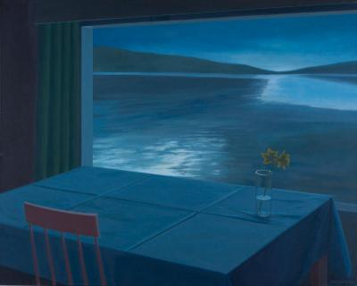 Scandinavian Summer Night by Merrill Peterson