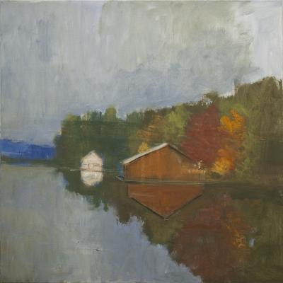 Boathouse No. 4 by Stephen Dinsmore