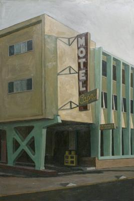 Motel Capri by Edwin Carter Weitz