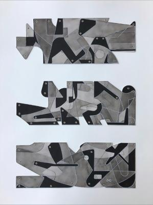 Block Study No. 3 by Chris Cassimatis