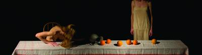 Table/Pitcher/Oranges by Todd Brown
