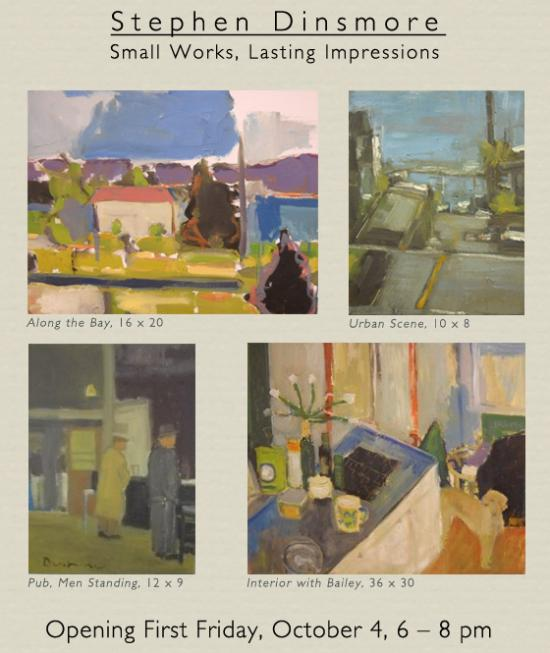 Stephen Dinsmore: Small Work, Lasting Impressions